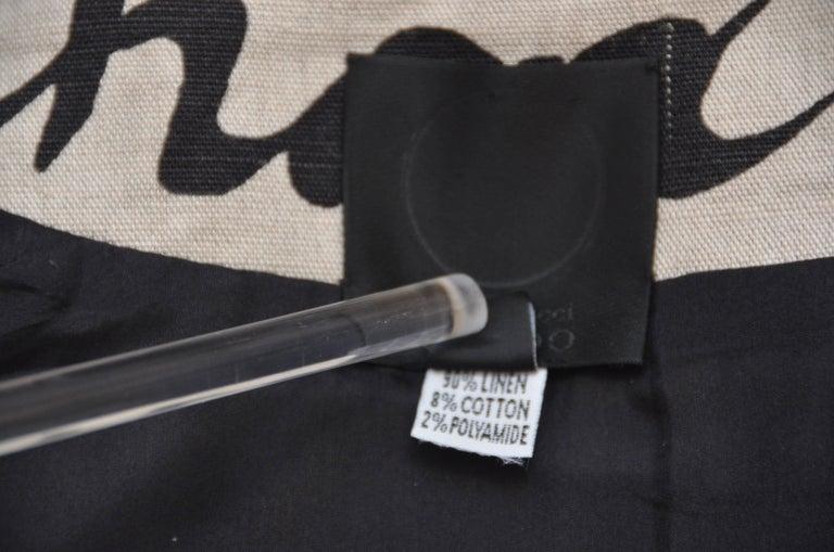 Chado Ralph Rucci Linen Coat, Mint  8 5