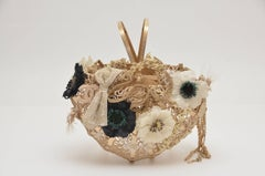 "Chanel  ""Holy Grail"" Basket  Crochet Handbag  2010  Seen On Ulyana Sergeenko"