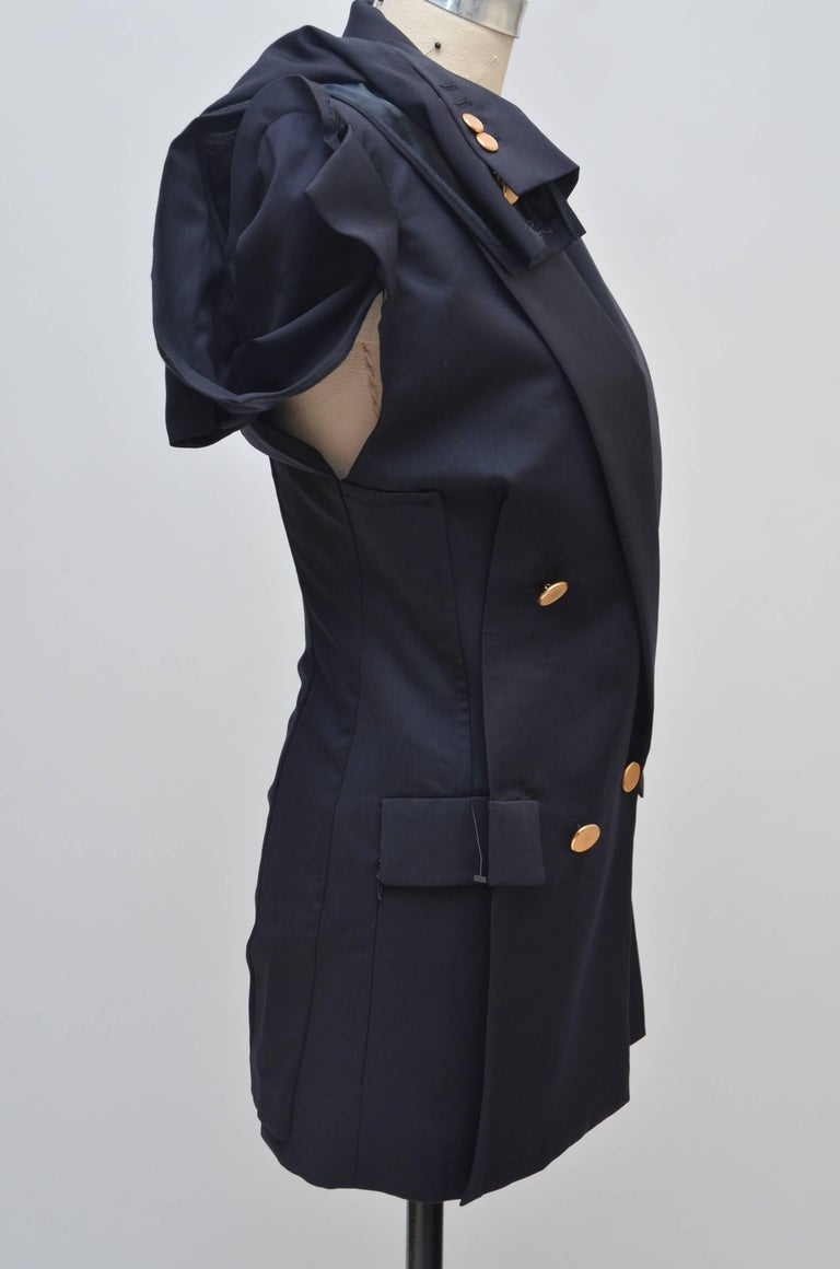 Black Maison Martin Margiela   Runway Spring SS2012   NEW With Tags For Sale