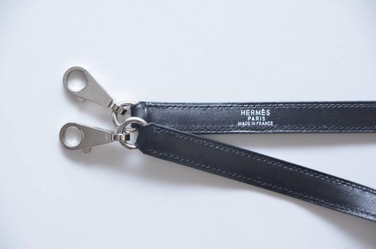 Hermes Kelly 25 CM  Sellier Crinoline Horse Hair   For Sale 5
