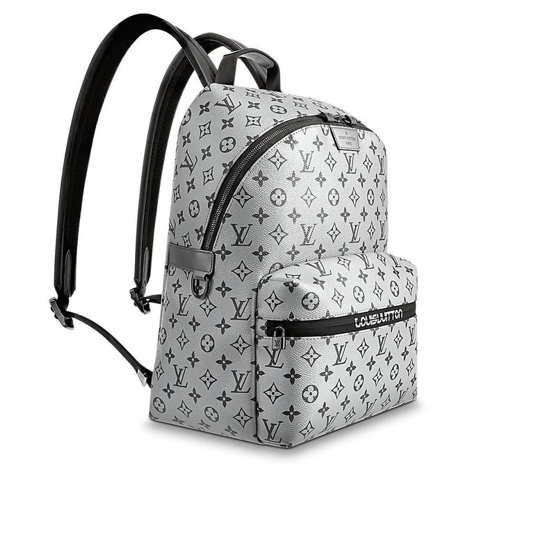 louis vuitton monogram silver reflect apollo backpack split new at 1stdibs