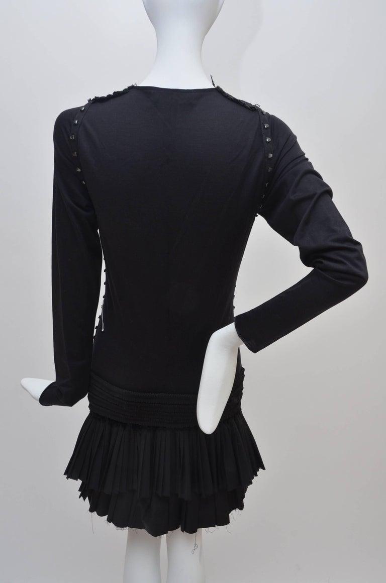 "Rare BALENCIAGA X  Nicholas Ghesquiere ""Le Dix"" '01 Dress Broderie Anglaise   4"