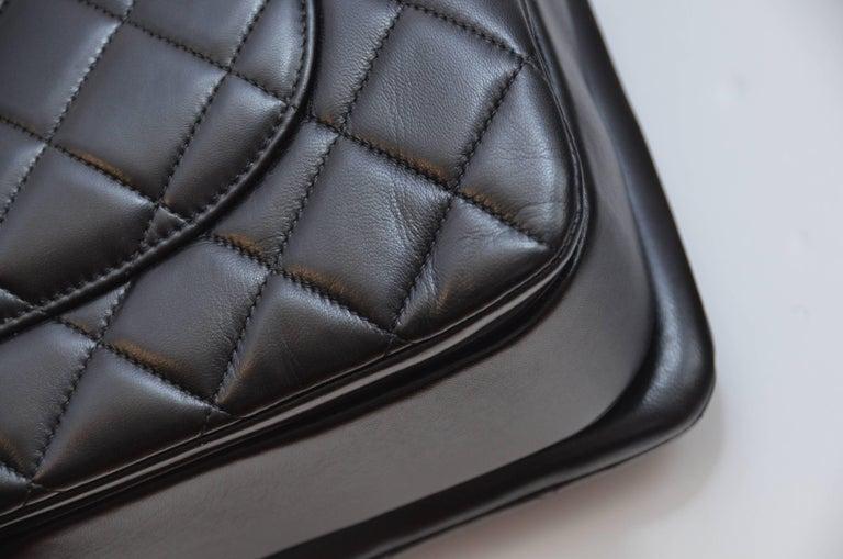 b211b80480e1 Chanel Black Large Trendy CC Classic Handle Shoulder Flap Tote Bag For Sale  5