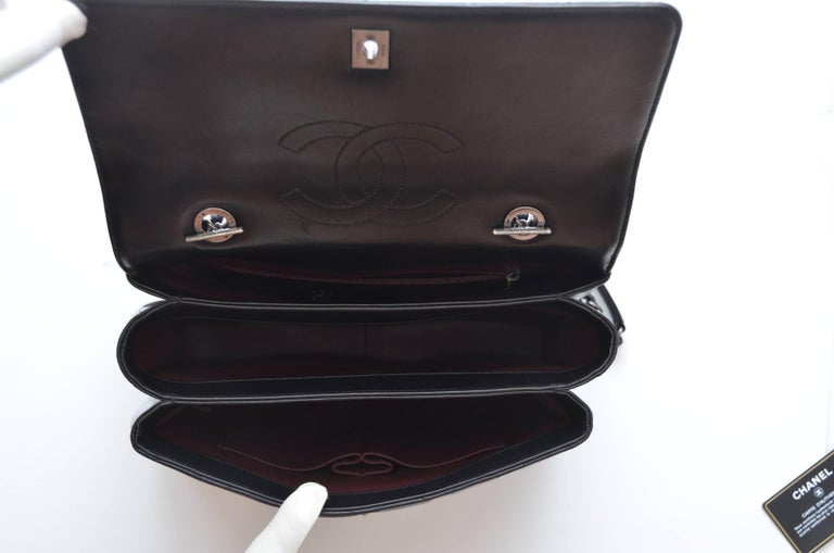 021b78e0178f Chanel Black Large Trendy CC Classic Handle Shoulder Flap Tote Bag For Sale  7