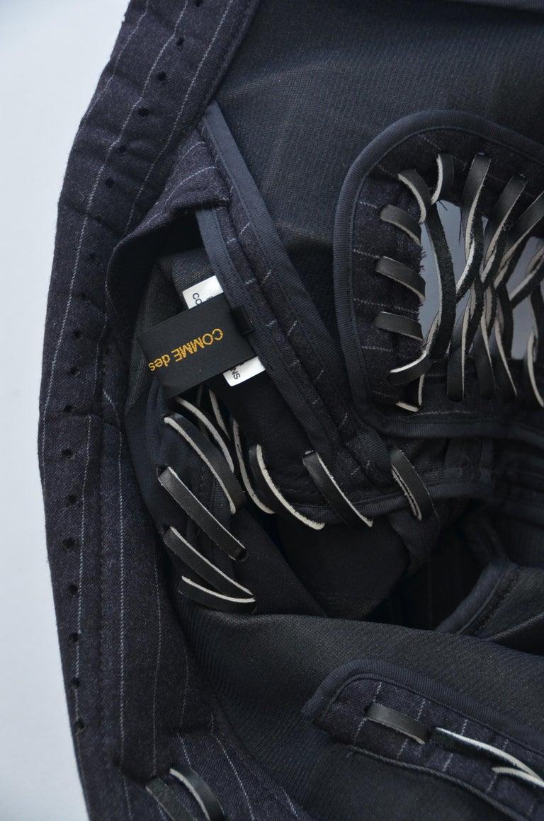 Rare COMME DES GARCONS Black Runway  Spring 2005  Jacket     M Size   For Sale 2