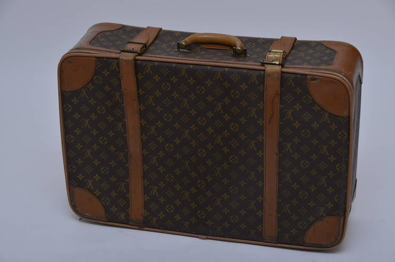 Louis Vuitton 8 Piece Traveling  Luggage 1970's - 1990's  8