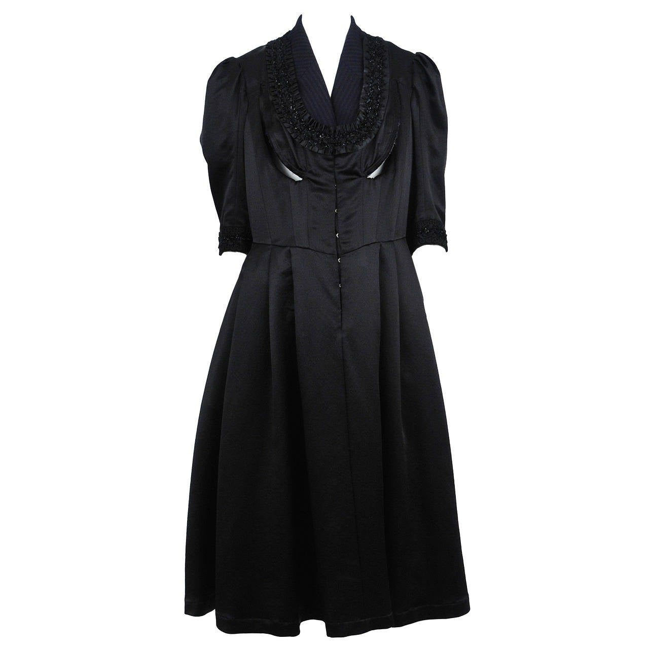 comme des garcons corseted dress at 1stdibs. Black Bedroom Furniture Sets. Home Design Ideas