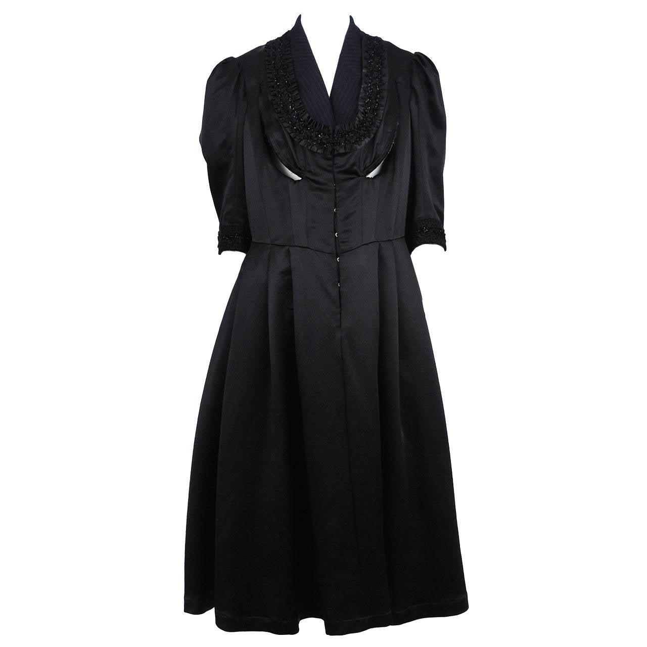 comme des garcons corseted dress at 1stdibs. Black Bedroom Furniture Sets. Home Design Ideas