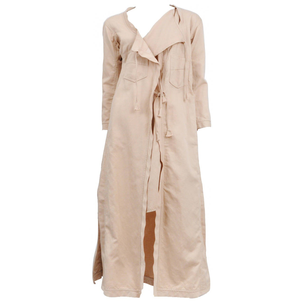 Gucci Cotton Duster Coat For Sale