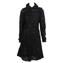 Tao Embroidered Trench Coat