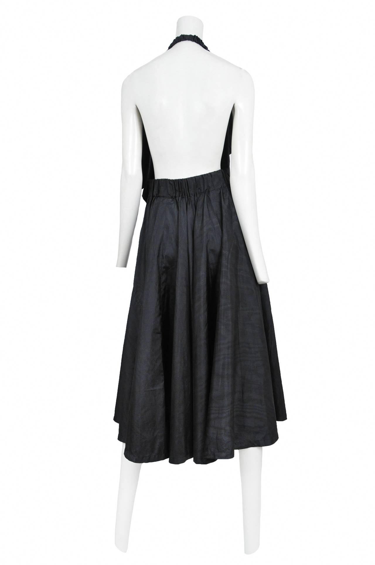 Comme des Garcons Asymmetrical Halter Dress 2