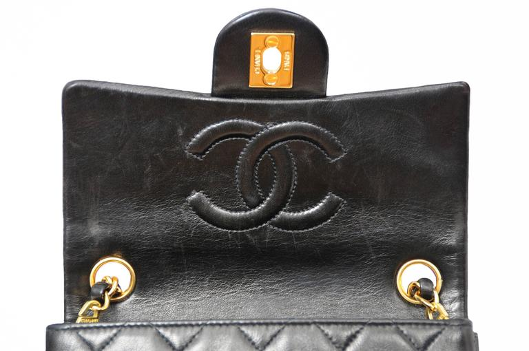 Chanel Classic Black Mini Bag 3