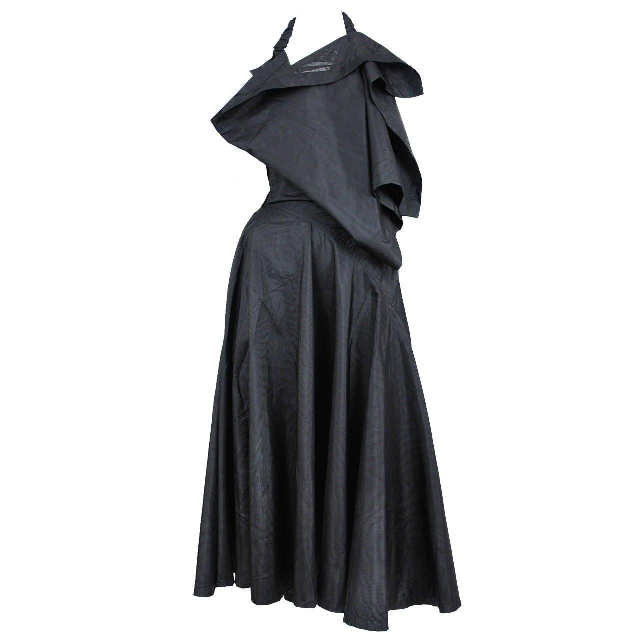 Comme des Garcons Asymmetrical Halter Dress 1