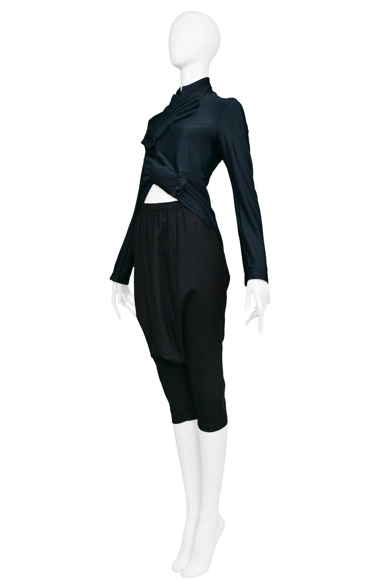Women's Comme des Garcons Black Glove Ensemble 2007 For Sale