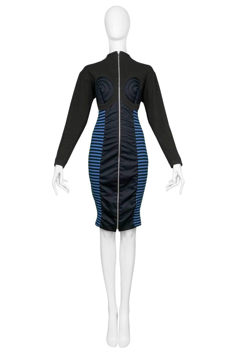 Jean Paul Gaultier Iconic Russian Constructivist Bustier Dress  2