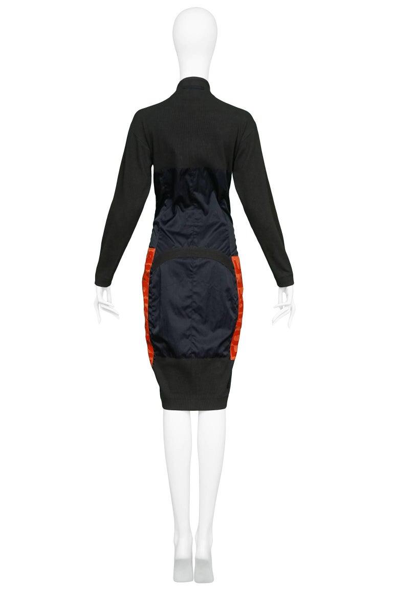 Jean Paul Gaultier Iconic Russian Constructivist Bustier Dress  4