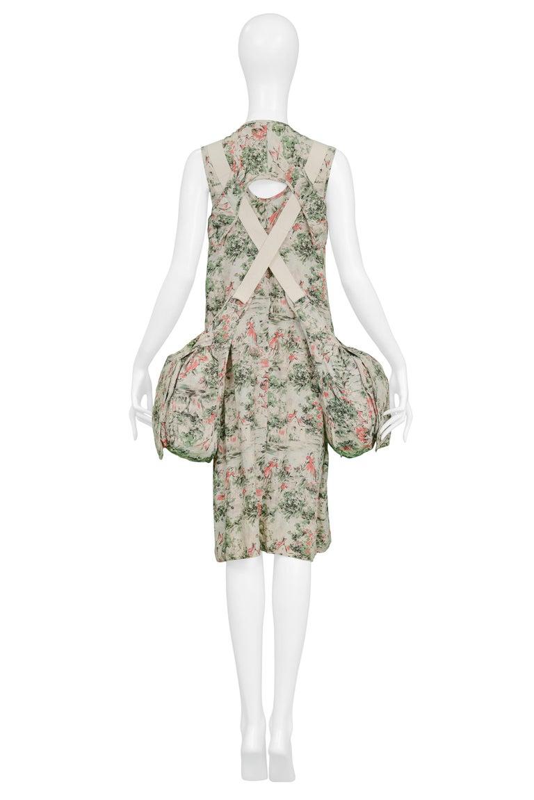 Women's Junya Watanabe Pictorial Parachute Double Bag Dress, 2003