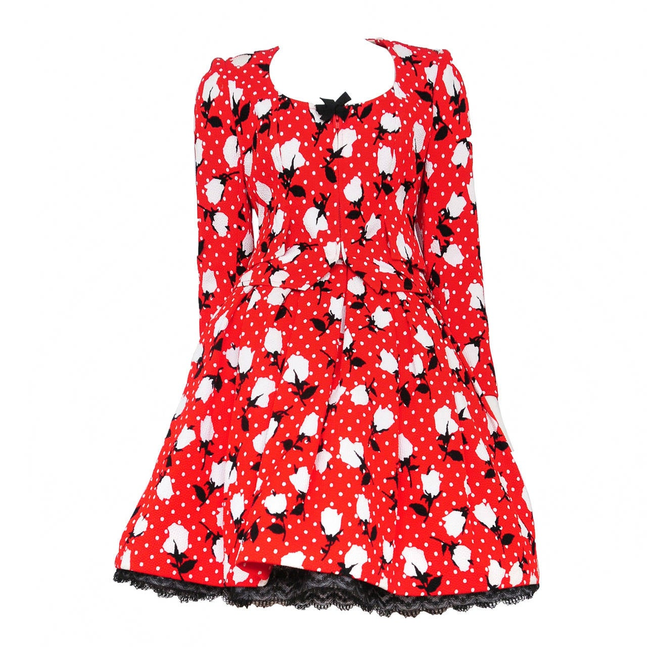 Lacroix Red Floral Ensemble