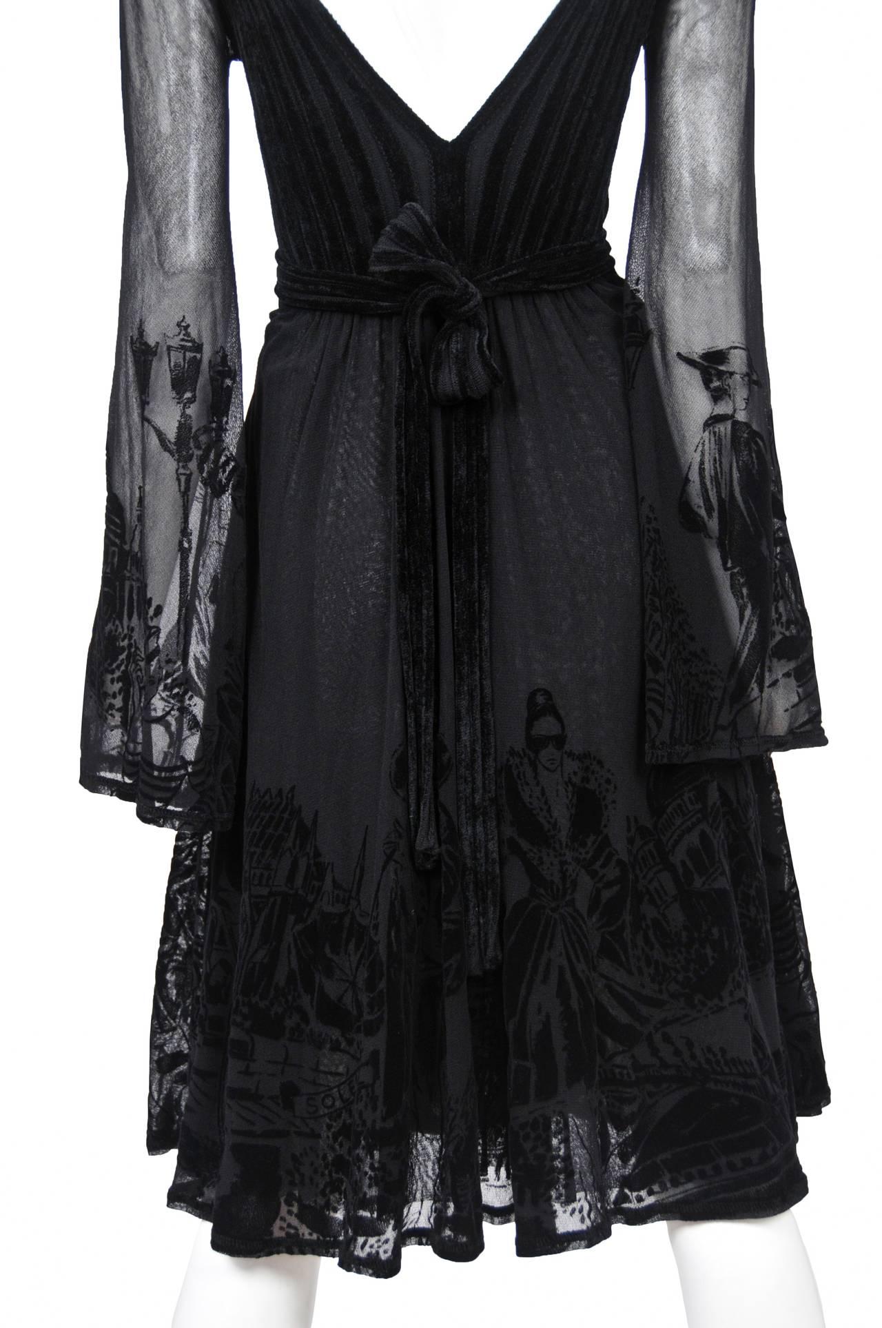 Gaultier Burnout Dress 2