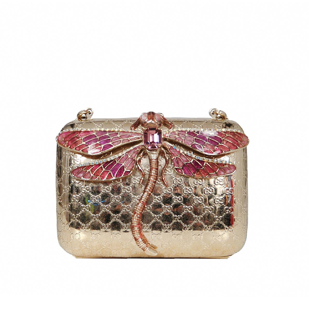 Gucci Dragonfly Evening Purse At 1stdibs