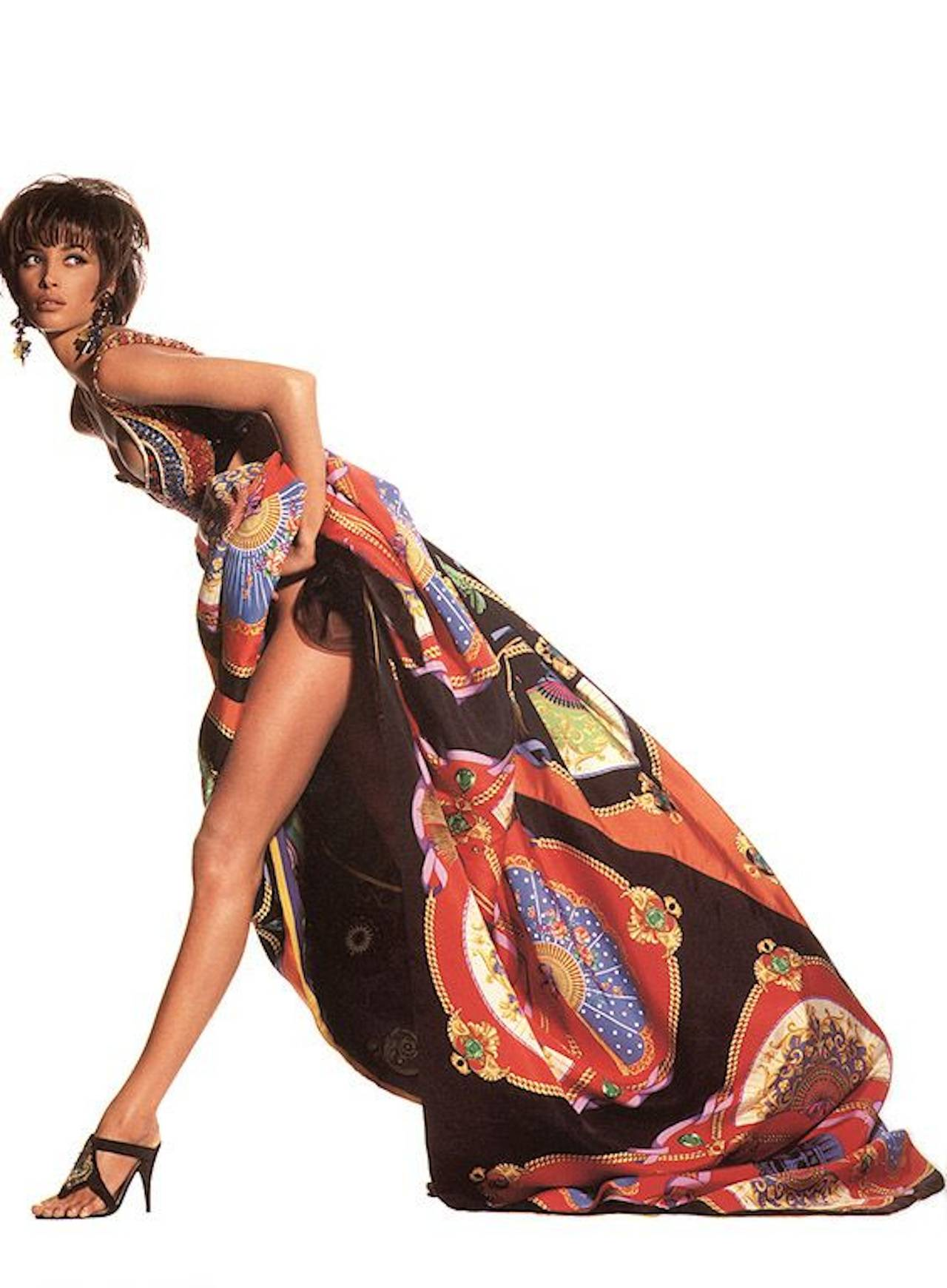Gianni Versace Couture Ball Gown Skirt c.1991 4
