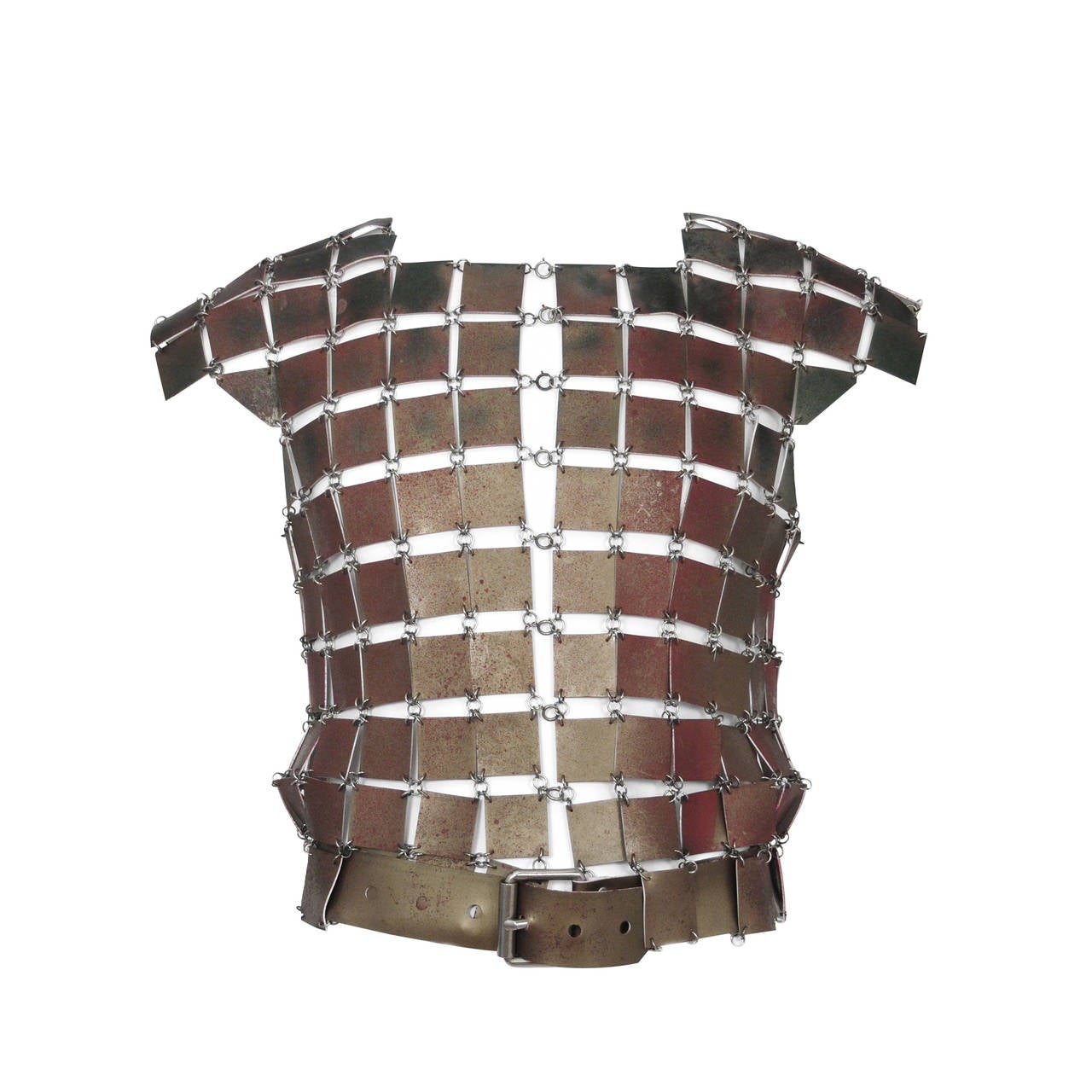 Paco Rabanne Leather Link Vest For Sale