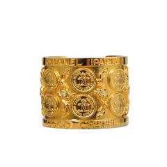 Chanel Coin Stamp Cuff