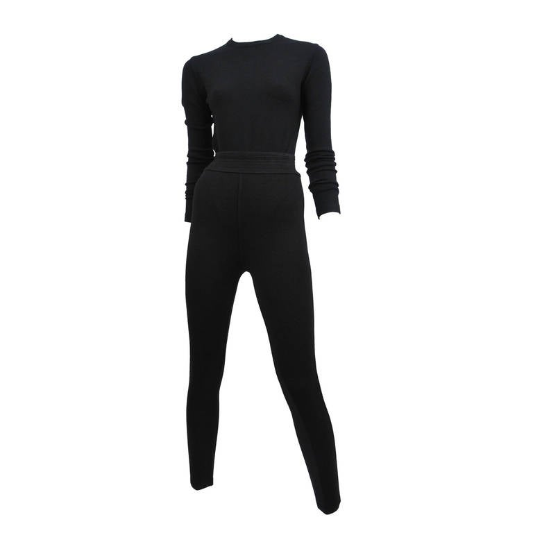 Alaia Bodysuit and Leggings Set 1