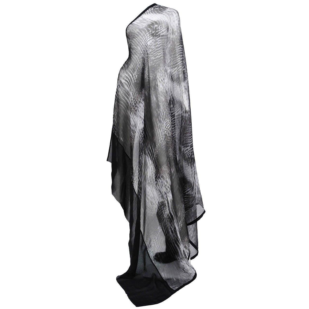 Tom Ford for Gucci Tye-Dye Silk Scarf