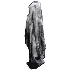 Tom Ford for Gucci Tie-Dye Silk Scarf