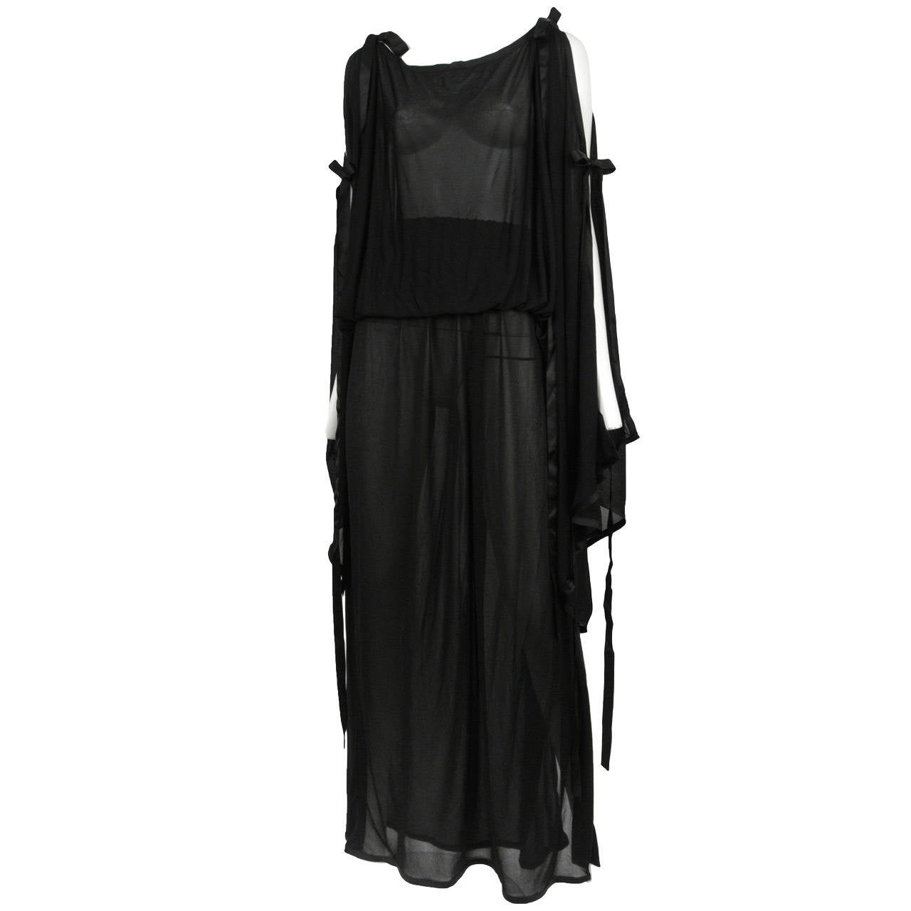 Yves Saint Laurent Sheer Tunic Ensemble 2
