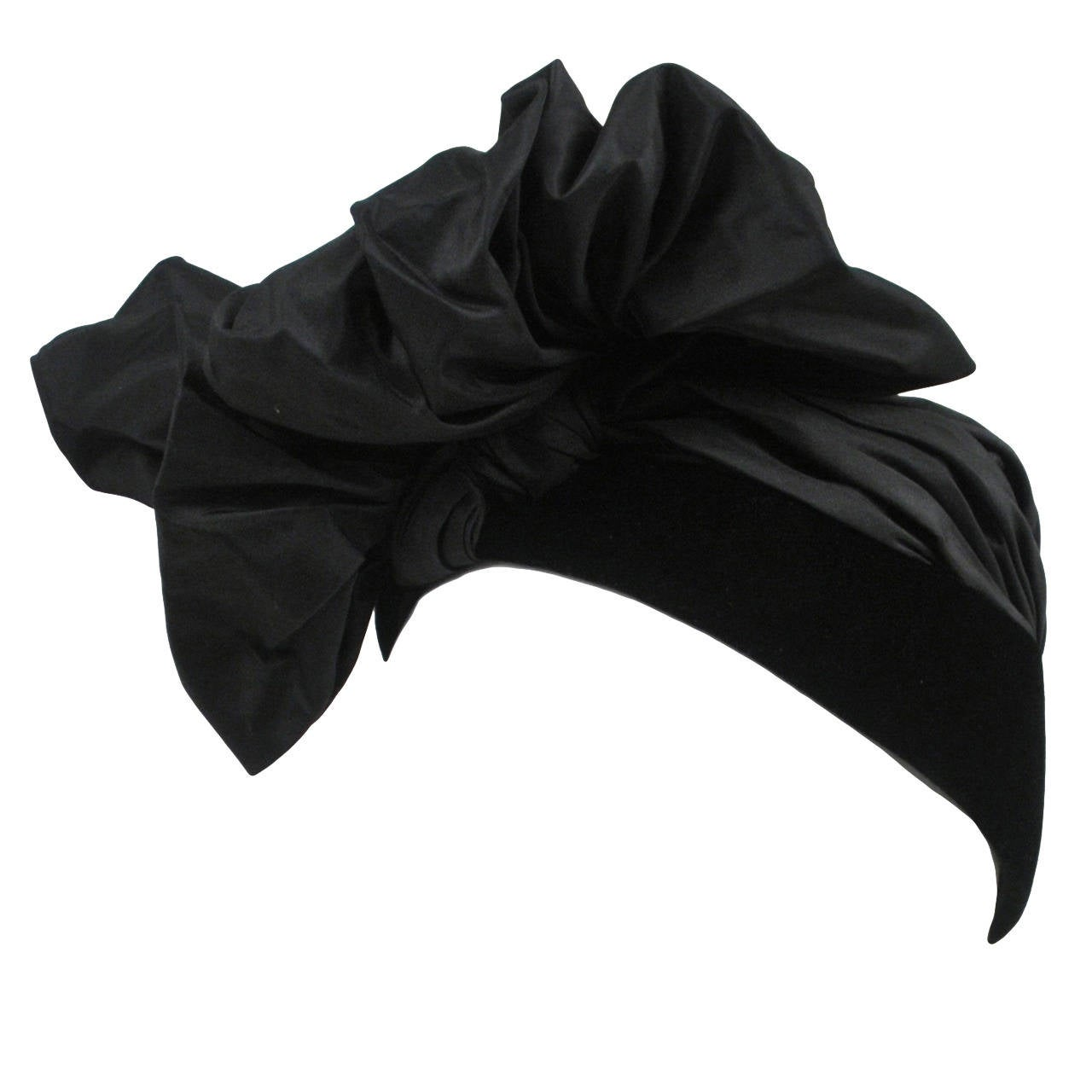Iconic Saint Laurent Turban Hat 1