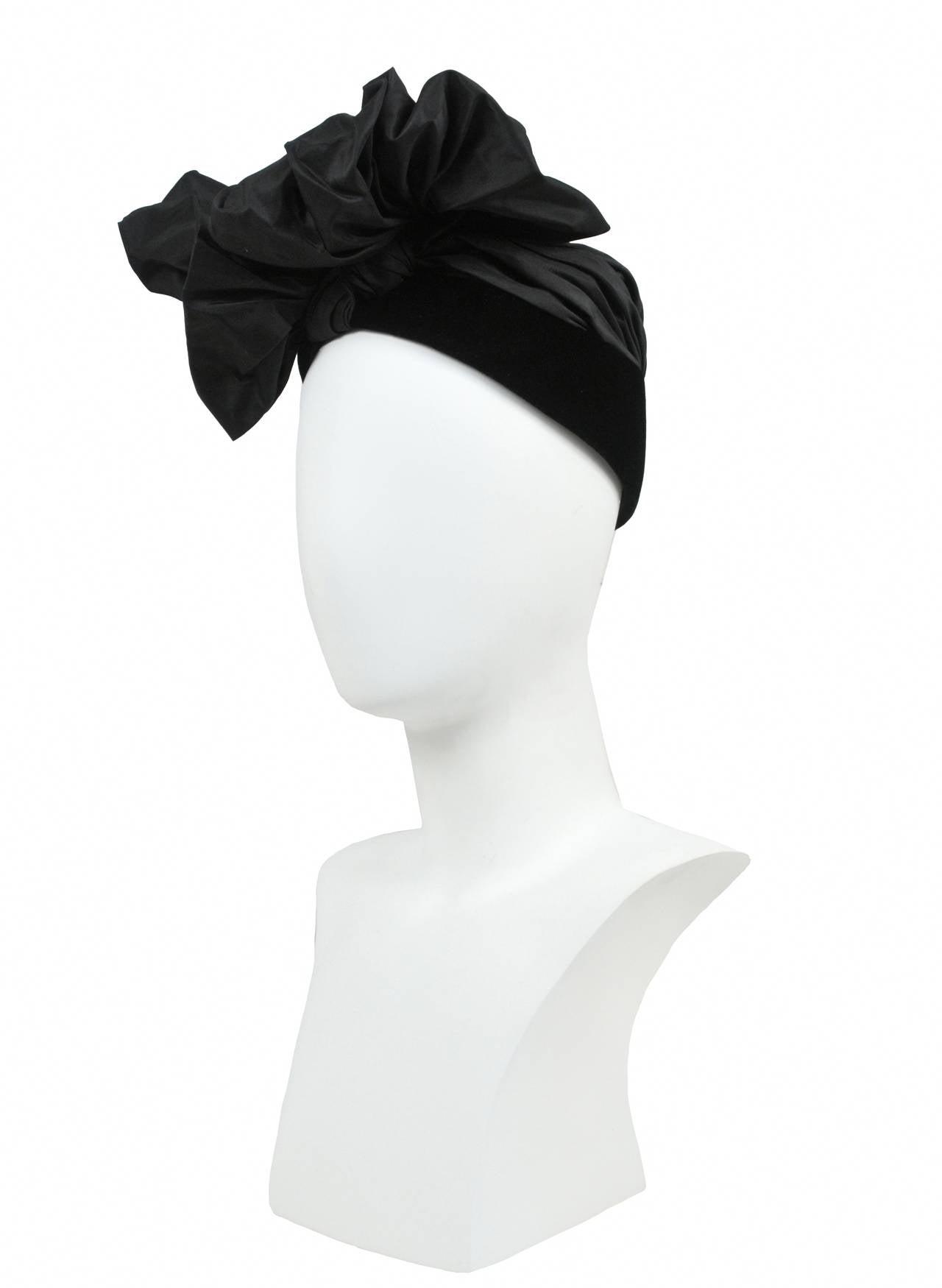 Iconic Saint Laurent Turban Hat 2