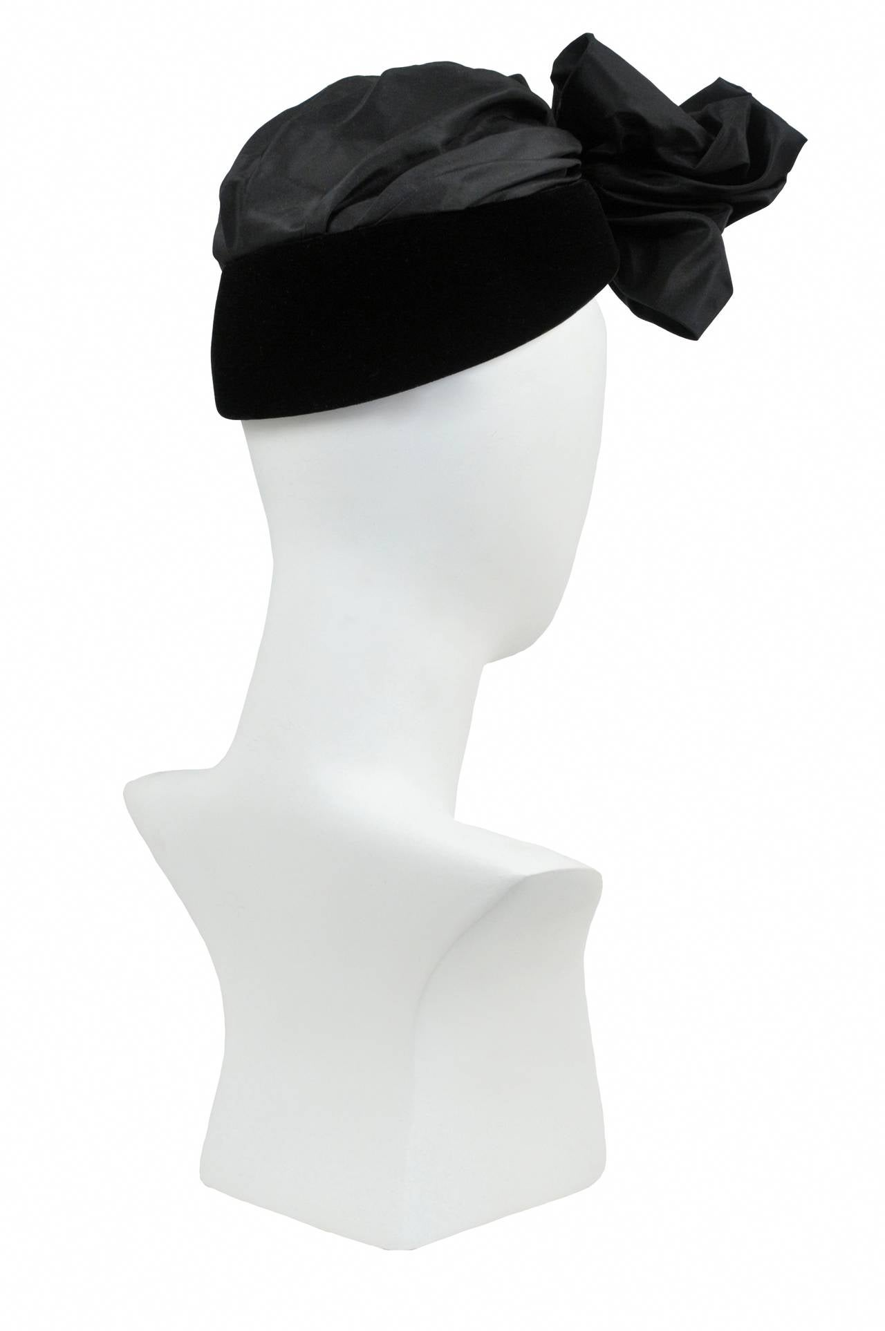 Iconic Saint Laurent Turban Hat 3