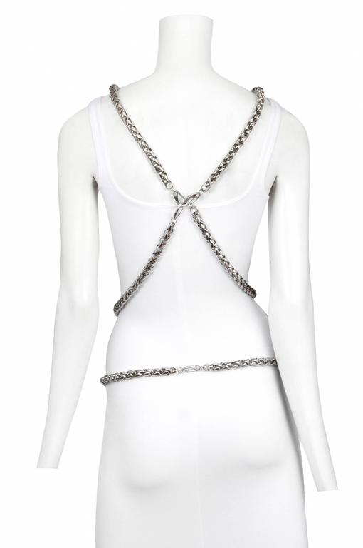 Women's Versace Medusa Body Chain Harness  For Sale