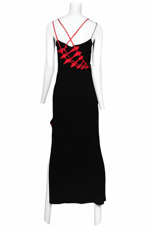 John Galliano Bias Ribbon Gown 2