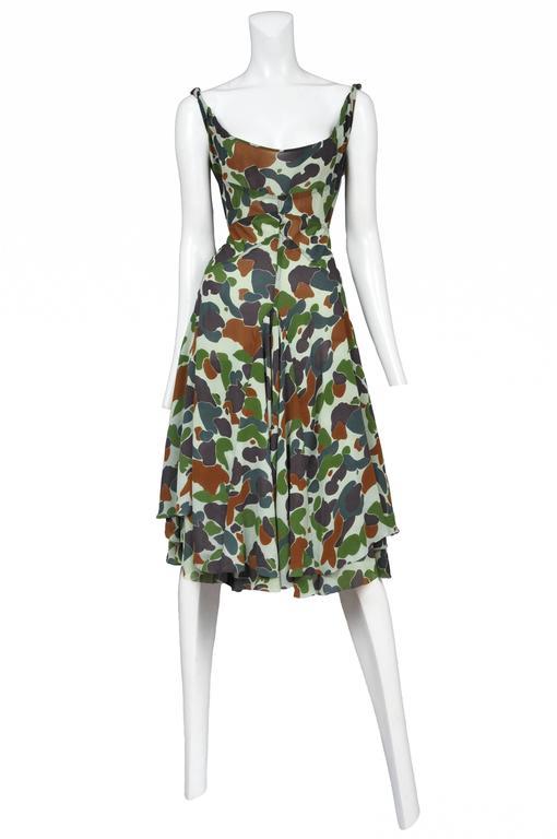 Junya Wantanabe Camo Print Dress 2