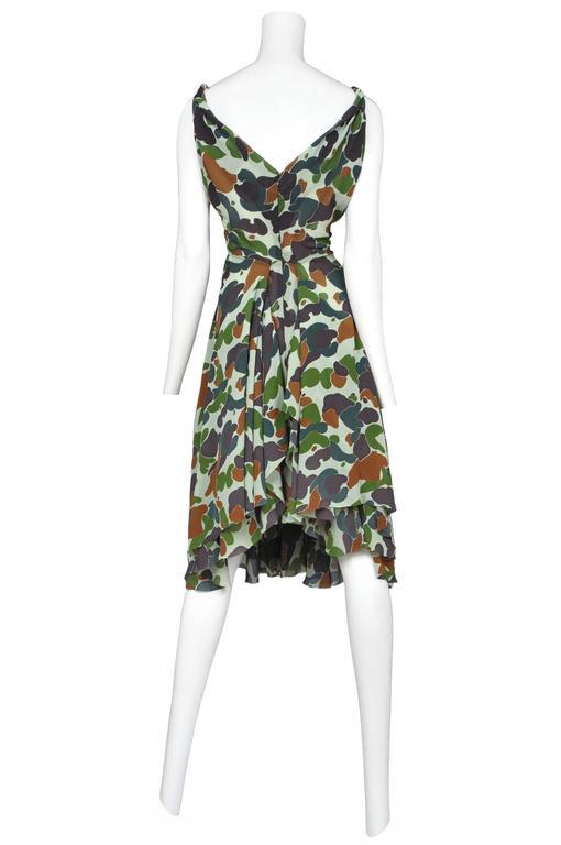 Junya Wantanabe Camo Print Dress 3