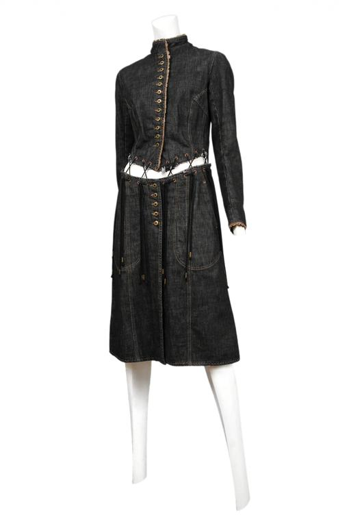 McQueen Irere Black Laces Coat  3