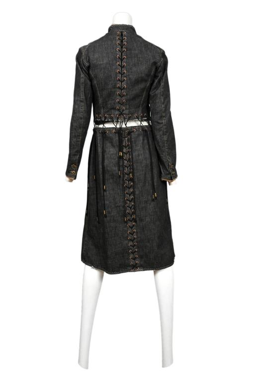 McQueen Irere Black Laces Coat  4