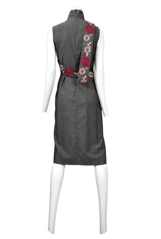 Black McQueen Voss Oriental Dress  For Sale