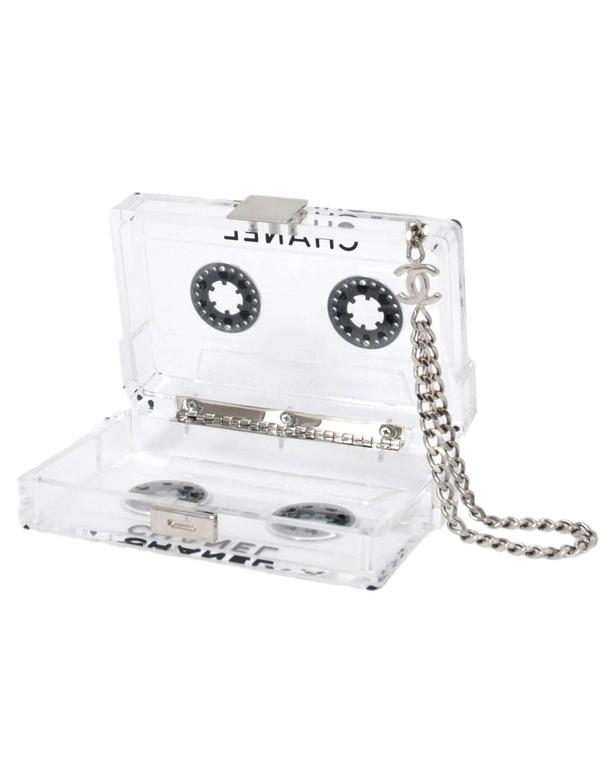 Chanel Clear Cassette Clutch 2004 2