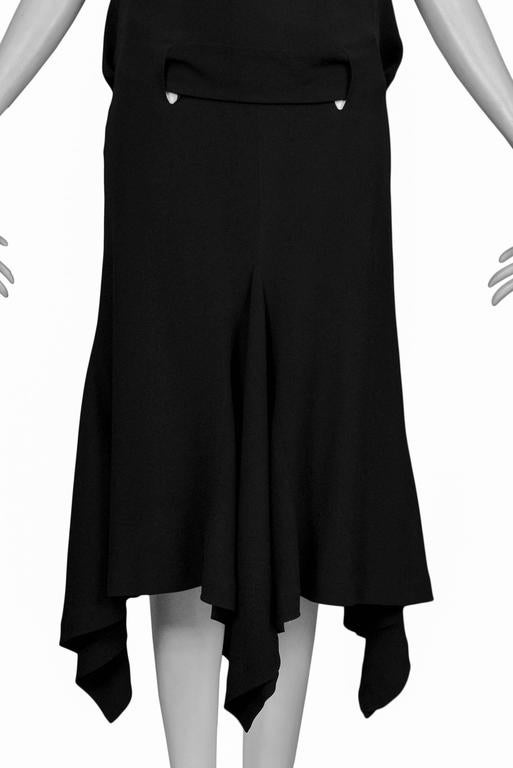 5a5eb9dfb5 Alexander McQueen Black Dress with Cut Out Back For Sale 3