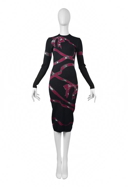 Alaia Pink Ribbon Dress 1992 2