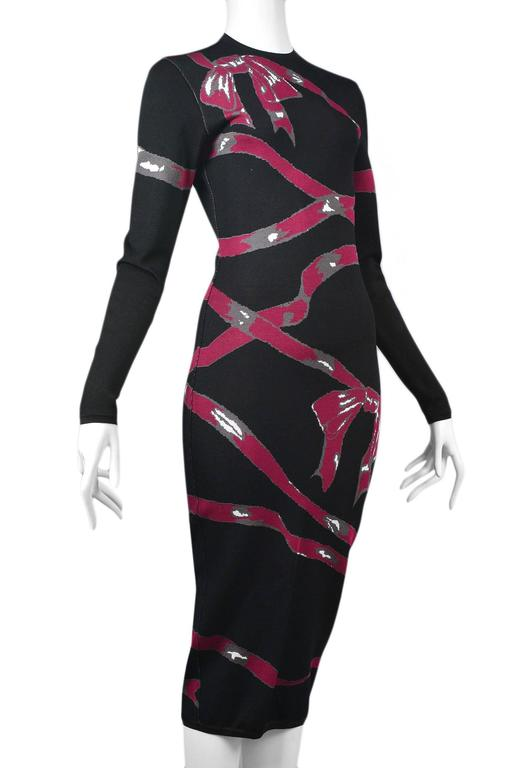 Alaia Pink Ribbon Dress 1992 5