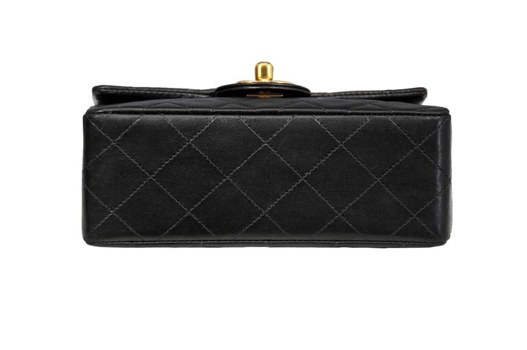 Chanel Classic Black Mini Bag 6