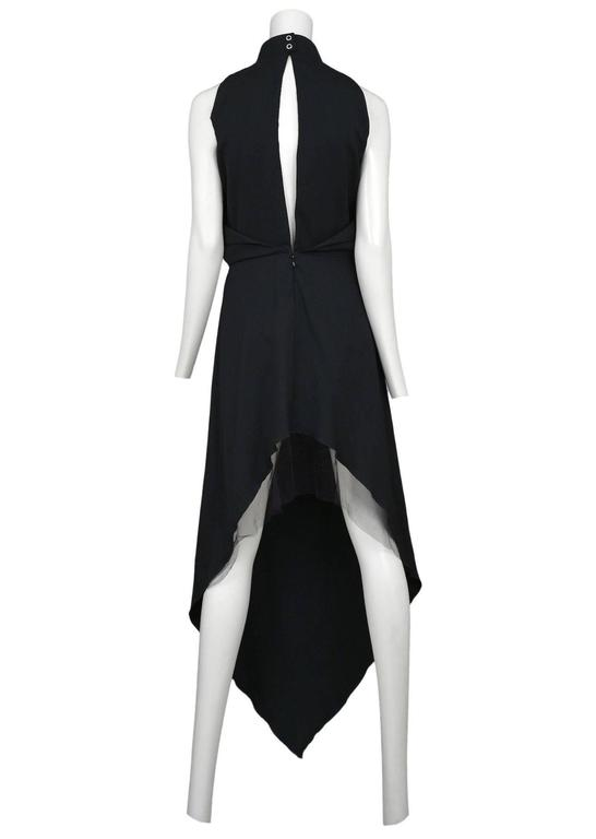 Maison Martin Margiela Black Priestess Gown 2008 In Excellent Condition For Sale In Los Angeles, CA