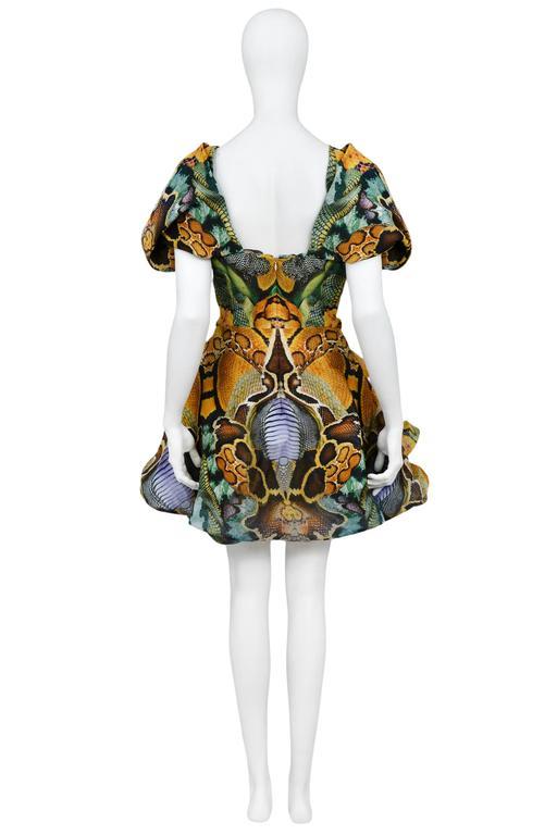 Alexander McQueen Platos Atlantis Dress 2010 In Excellent Condition For Sale In Los Angeles, CA