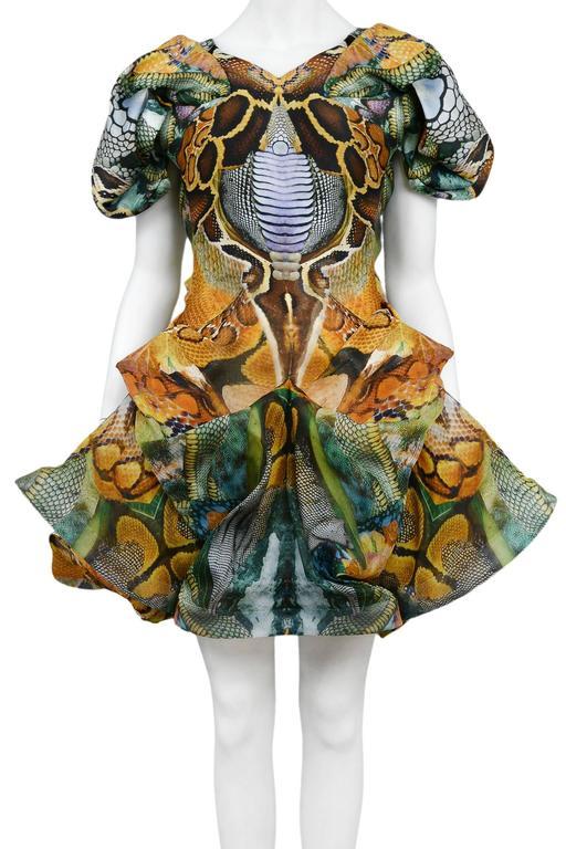 Women's Alexander McQueen Platos Atlantis Dress 2010 For Sale