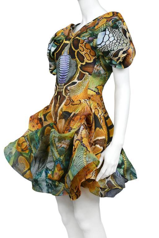 Alexander McQueen Platos Atlantis Dress 2010 For Sale 1